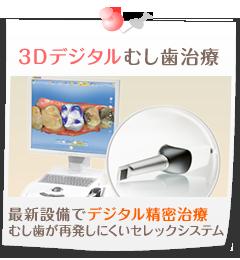 3Dデジタルむし歯治療